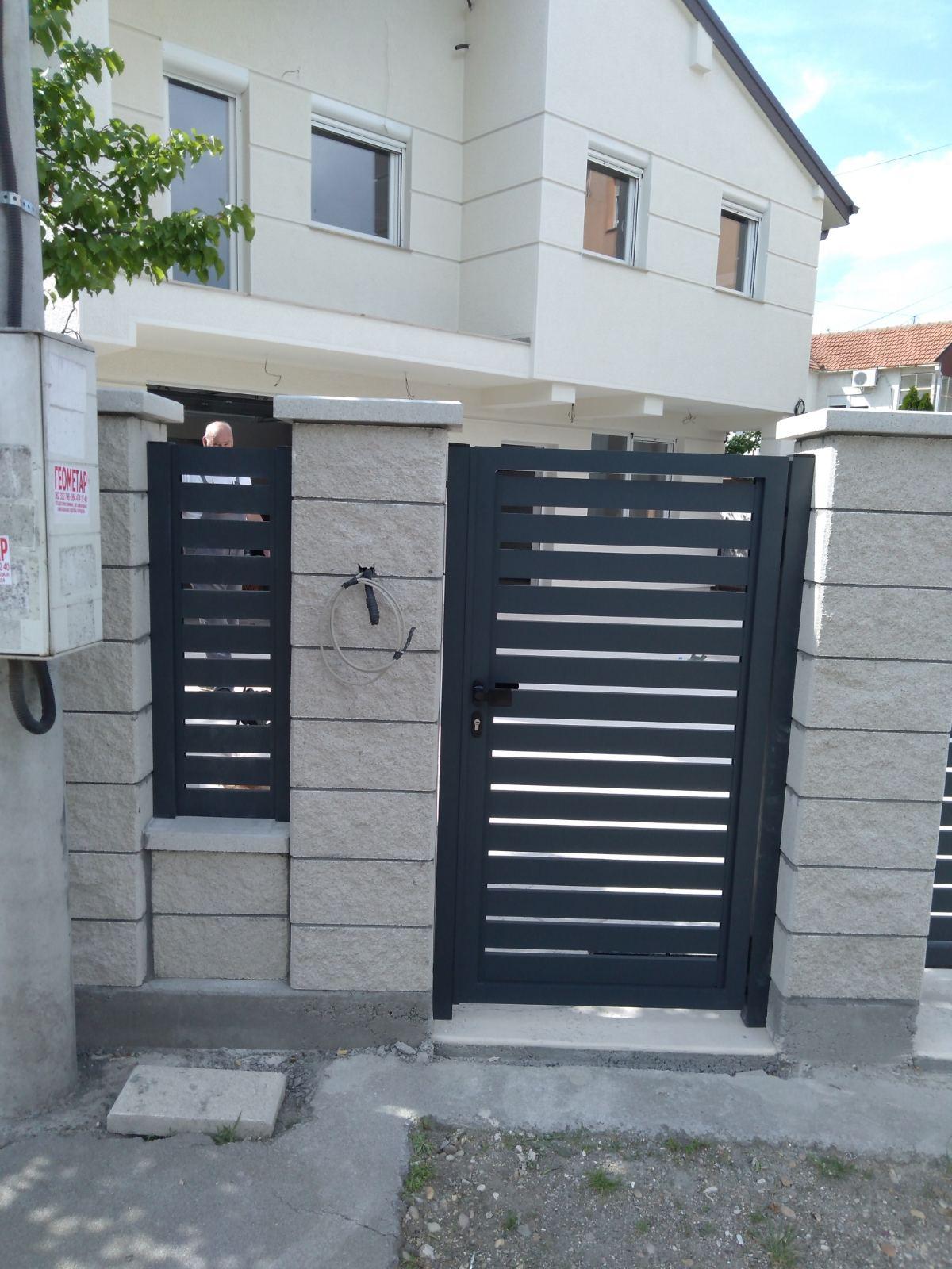 Aluminijumske kapije antracit